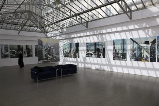 Exposition de peintures de Paris la Défense par Michelle AUBOIRON - Kiron Galerie - mai 2009