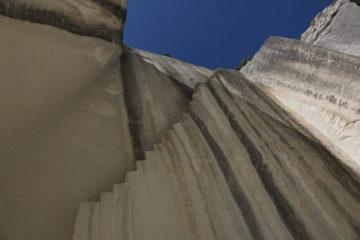 Carrière de pierre à Oppede dan le Lubéron