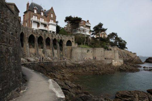 Promenade de la Malouine à Dinard