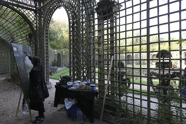 michelle-auboiron-peinture-live-bosquet-de-l-encelade-parc-chateau-de-versailles-13