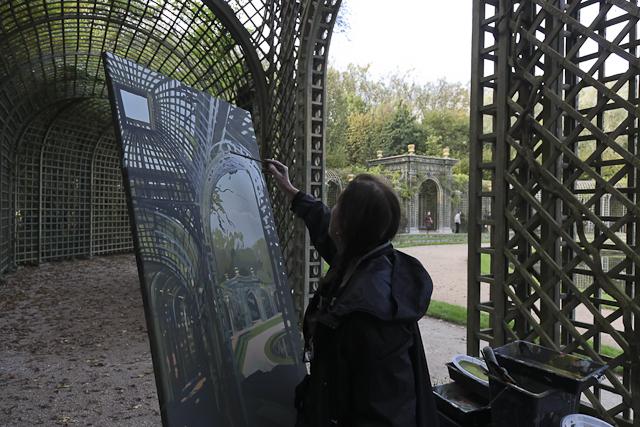 michelle-auboiron-peinture-live-bosquet-de-l-encelade-parc-chateau-de-versailles-15