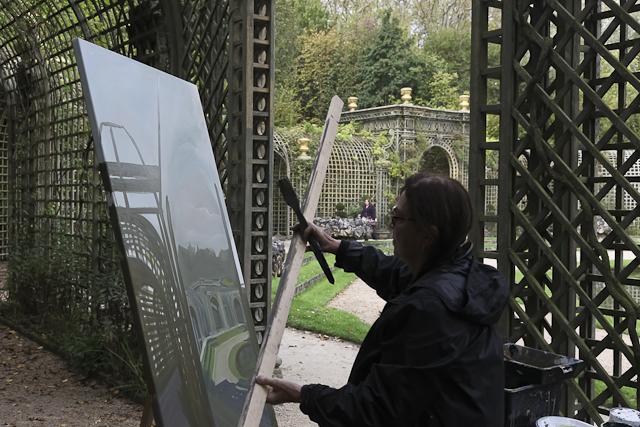 michelle-auboiron-peinture-live-bosquet-de-l-encelade-parc-chateau-de-versailles-6