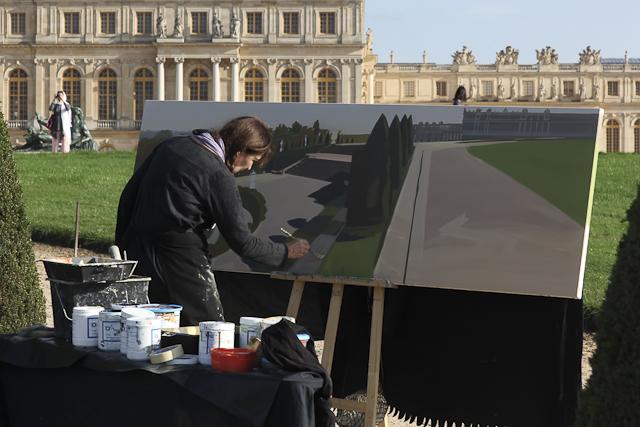 peintre-in-situ-chateau-de-versailles-michelle-auboiron-10