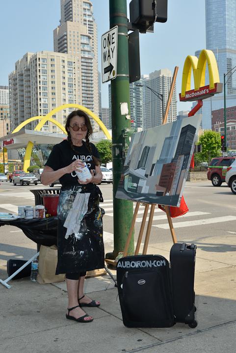 01-Mac-Donald-s-Ontario-et-Clark-Chicago-painting-peinture-Michelle-Auboiron-01