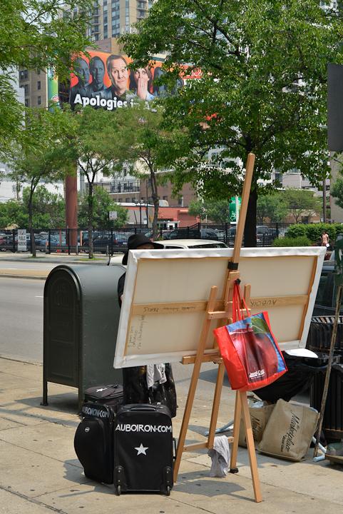 02-Mac-Donald-s-Ontario-et-Clark-Chicago-painting-peinture-Michelle-Auboiron-02