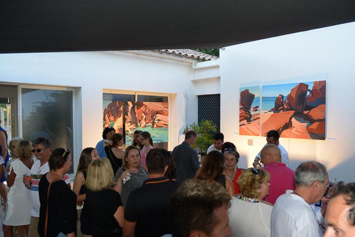 Exposition-Peintures-de-Corse-de Michelle-Auboiron-Barnes-Porto-Vecchio-2017-13