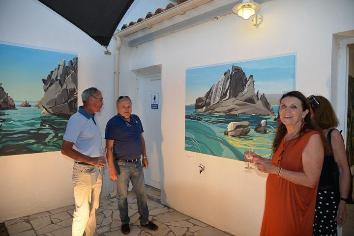 Exposition-Peintures-de-Corse-de Michelle-Auboiron-Barnes-Porto-Vecchio-2017-19